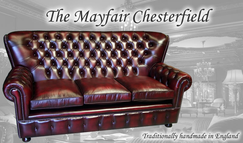 The Mayfair Chesterfield Sofa Collection A1 Furniture