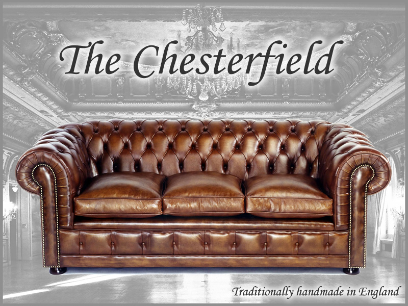Chesterfield Sofas, Chairs, Leather, Bespoke made in england A1 Furniture, Enfield