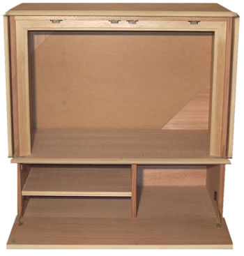 Reproduction dvd and plasma lcd television cabinets for Reproduction kitchen cabinets